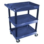 Luxor-3-Shelf-Tub-Cart-Full-Size-0-0