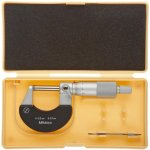 Mitutoyo-Outside-Micrometer-Heat-Insulated-Frame-Ratchet-Stop-Metric-0-0