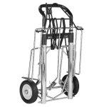 Norris-700-400-Pound-Capacity-Heavy-Duty-Professional-Telescoping-Cart-0-0