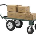 Sandusky-FW4824-Heavy-Duty-Steel-4-Wheel-Flat-Wagon-with-Pull-Handle-750-lbs-Capacity-48-Length-x-24-Width-0-1