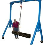 Vestil-FHS-4-10-Fixed-Height-Steel-Gantry-Crane-4000-lbs-Capacity-10-Length-x-8-Height-Beam-0-1