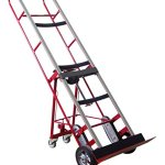 Wesco-230036-Steel-Heavy-Duty-Vending-Machine-Truck-with-Manual-Ratchet-8-Cast-Iron-Wheel-1200-lb-Capacity-24-Width-x-66-Height-x-14-12-Depth-0