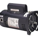 1-hp-3450rpm-48Y-Frame-230-volts-Square-Flange-Pool-Pump-Energy-Efficient-replacement-motor-AO-Smith-0
