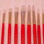 144-Piece-Economy-White-Bristle-Round-Flat-ART-Paint-Brush-Assortment-Box-0-0