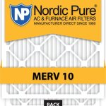 16x25x5-Lennox-X6670-Replacement-MERV-10-furnace-Air-Filter-Qty-4-0