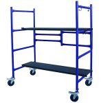 4-ft-Mini-Foldable-Scaffold-Mobile-Workbench-Storage-Cart-0-1