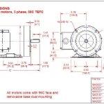 AC-MOTOR-34HP-1725RPM-3PH60HZ-208-230460VAC-56CTEFC-WITH-FOOT-SF-115-INSUL-F-INVERTER-DUTY-0
