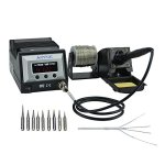 Aoyue-9378-60-Watt-Programmable-Digital-Soldering-Station-ESD-Safe-includes-10-tips-CF-switchable-Configurable-Iron-Holder-Spare-Heating-Element100-130V-0