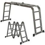 Best-Choice-Products-SKY528-Scaffold-Extendable-Heavy-Duty-Multi-Purpose-Folding-Step-Ladder-Aluminum-0-0