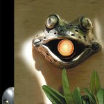 Bronze-Frog-Door-Chime-Surround-with-Lighted-Button-0-0