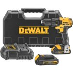 DEWALT-DCD780C2-20-Volt-Max-Li-Ion-Compact-15-Ah-DrillDriver-Kit-0-0
