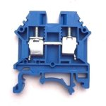 Dinkle-DK6N-BL-DIN-Rail-Terminal-Block-Screw-Type-UL-600V-50A-8-20AWG-Blue-Pack-of-100-0