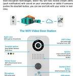 DoorBird-WiFi-Video-Doorbell-D202B-Stainless-Steel-with-Bronze-finish-Flush-Mount-Edition-0-1