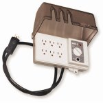 Hubbell-All-Weather-30-Inch-6-Grounded-Outdoor-Outlet-Strip-with-Photocell-and-6-Position-Timer-FB3005-0