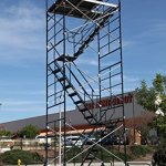 SCAFFOLD-ROLLING-TOWER-WITH-STAIRWAY-UNIT-5-X-7-X-208-DECK-HIGH-CBM1290-0