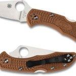 Spyderco-Delica4-Lightweight-FRN-Flat-Ground-PlainEdge-Knife-0