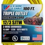 US-Wire-76100-123-100-Foot-SJTW-Yellow-Heavy-Duty-Extension-Cord-with-Lighted-Pow-R-Block-0