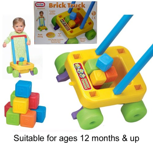 Push along Brick Truck with alphabet bricks 55061