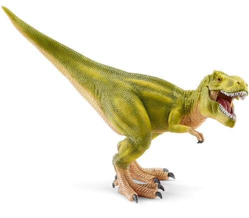 http://www.comacodirect.com/Schleich-Tyrannosaurus-Rex-Light-Green