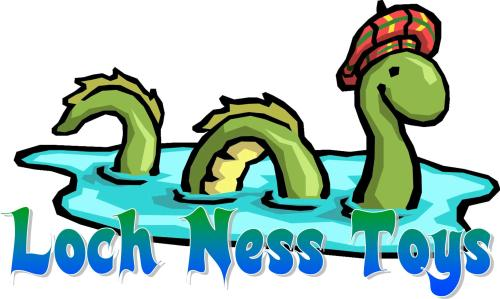 Loch Ness Toys, the new name for Comaco Toys Direct, Drumnadrochit