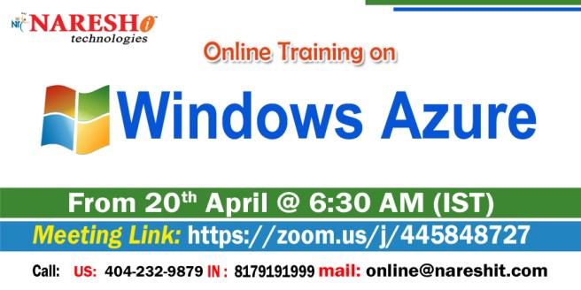 Windows-Azure-Online-Training