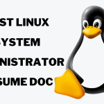 Linux System Administrator Resume