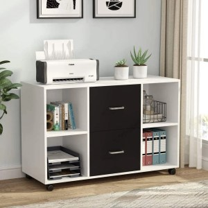2 Drawer Wood File Cabinet large mobile cabinet