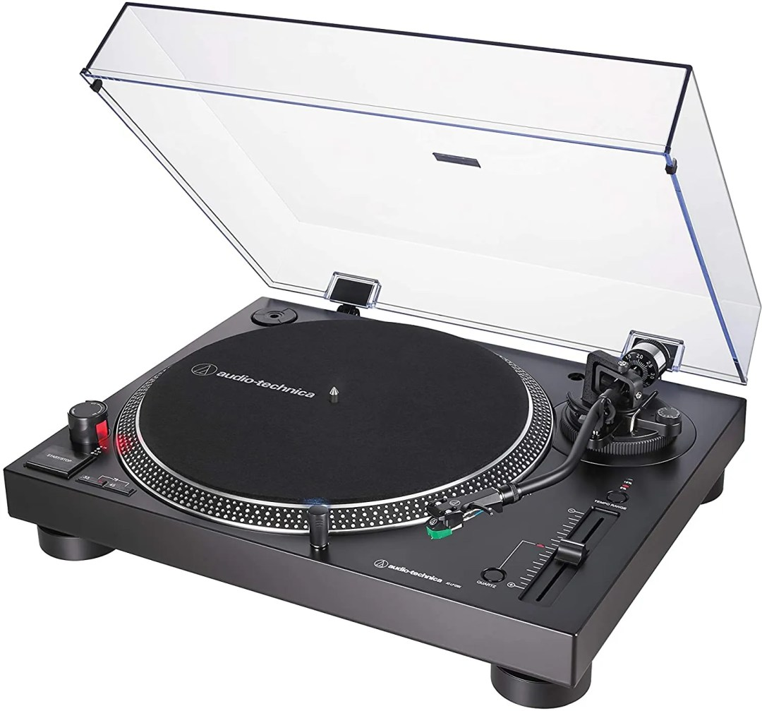Audio-Technica AT-LP120XUSB-BK Direct-Drive Turntable - best business gift ideas