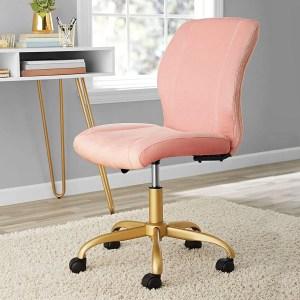 Chic,Elegant,Durable and Comfortable Plush Velvet Office Chair