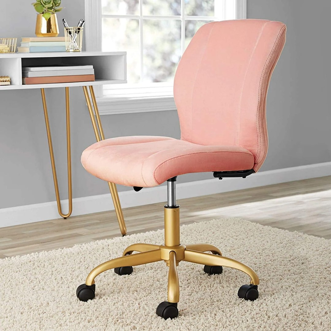 Chic,Elegant,Durable and Comfortable Plush Velvet Office Chair