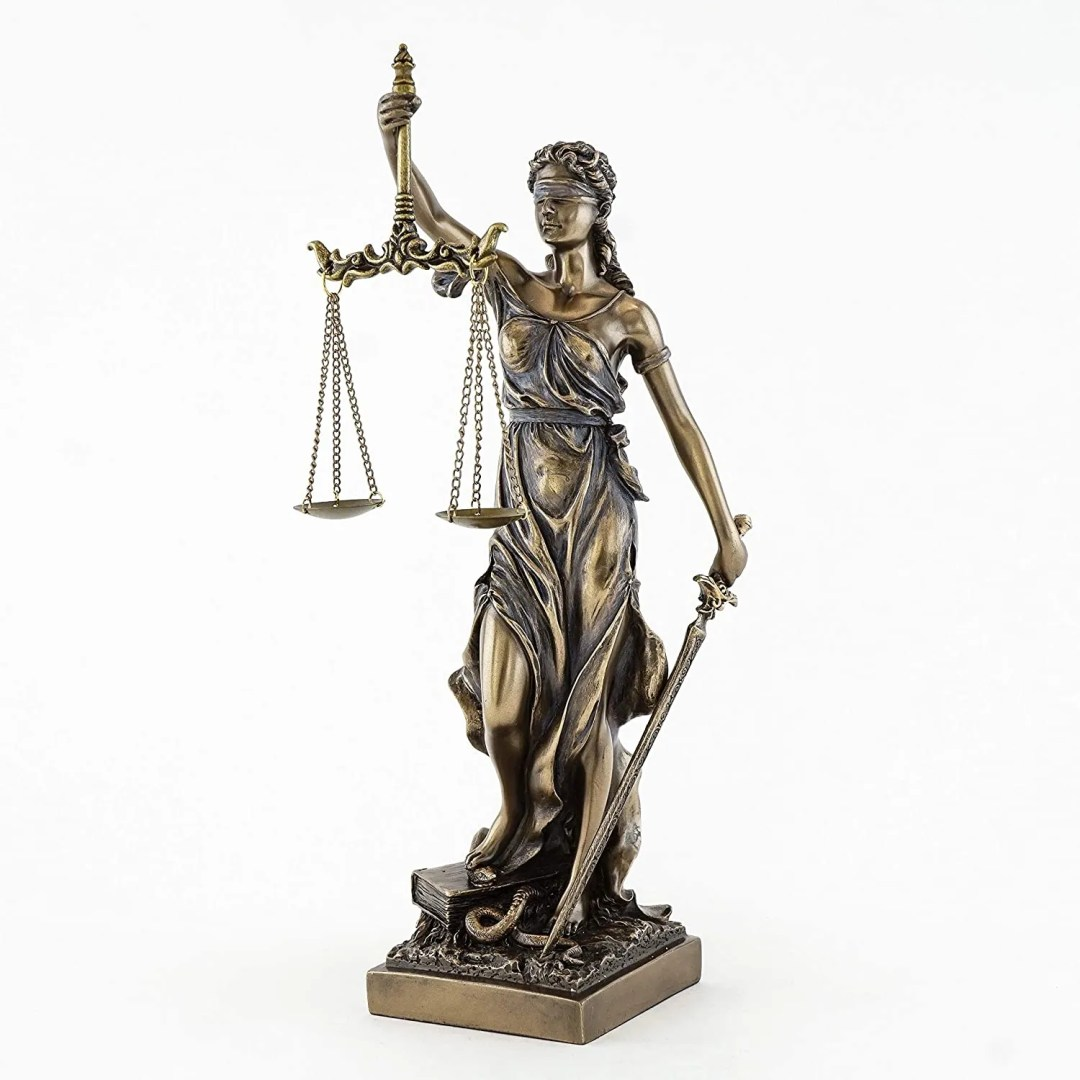 Lady Justice Statue - best law office decor ideas