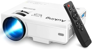 AuKing Portable Mini Projector