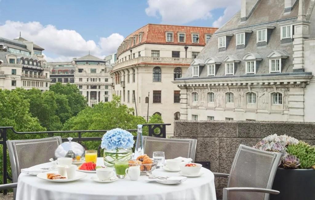 One Aldwych - 5-star Luxury hotel near Covent Garden central London with balcony