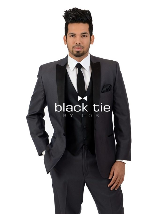Online Tuxedo Rental - Grey Suit