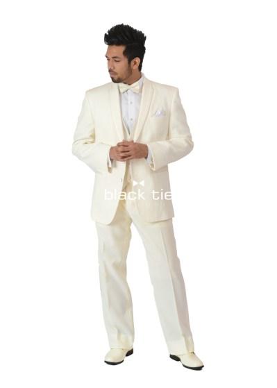 Lux Ivory Tuxedo Rental