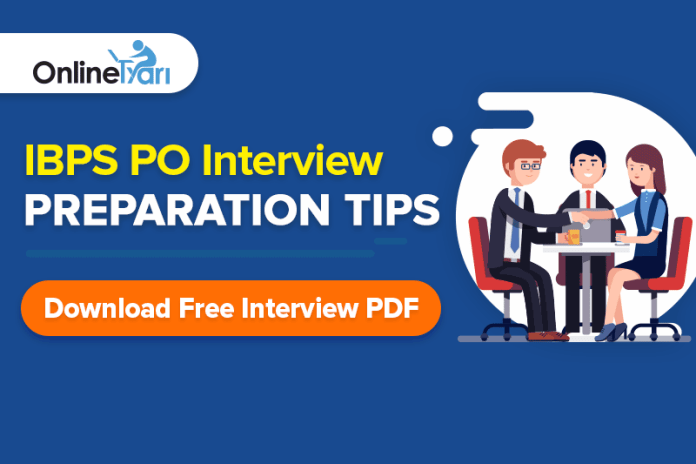 IBPS PO Interview Preparation Tips | Download Free Interview PDF Capsule