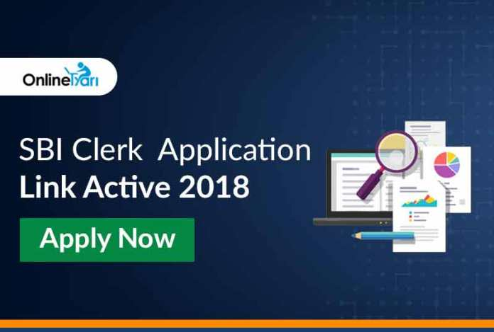 SBI Clerk 2018 Online Application Link Active: Direct Link to Apply