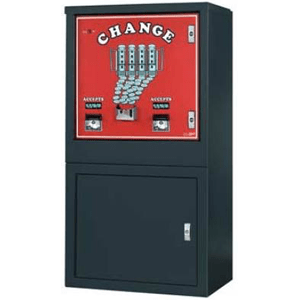 AC6000 High Capacity Dollar Bill Changer Floor Model