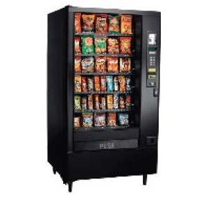 AP 123 SnackShop Automatic Products Vending Machine Merchandiser