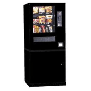 AP CS-12 Snack Automatic Products Vending Machine With Storage Stand