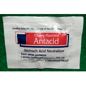 Antacid-Cherry Flavor-Stomach Acid Neutralizer