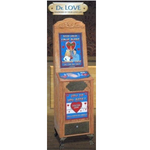 Antique Style Dr. Love Meter Impulse Arcade Novelty & Fun Skill Game