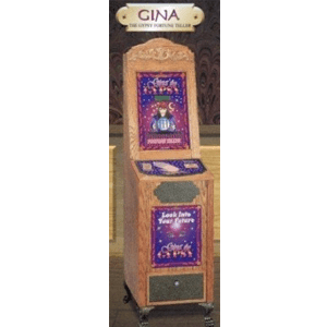 Antique Style Gina The Gypsy Impulse Arcade Game