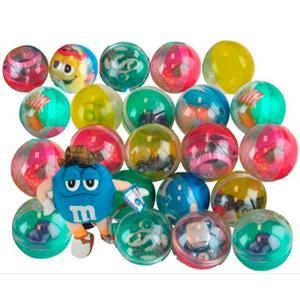 Capsule Kit 4in Round 72pc - Toy-Prize Capsules