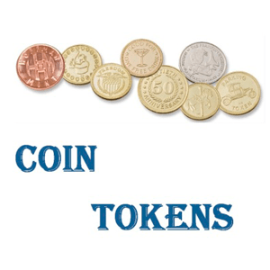 Coin Tokens-Vending-Amusement-Laundry-Car Wash
