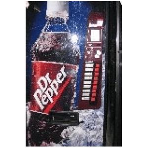 Dixie Narco 501-9 Cold Beverage Vendor Dr. Pepper Logo Vending Machine
