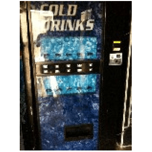 Dixie Narco 720-10 Live Display Cold Beverage Vending Machines