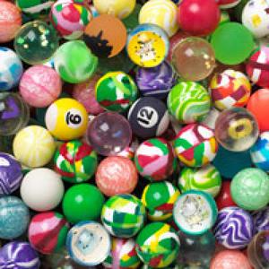 Fancy Mix Bouncy Balls 45mm