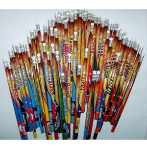 NBA Team Assorted Wood Pencils 30 Teams -Sell Fast- Great Collectables
