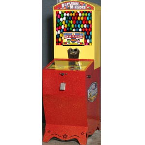Play More Win More Pin Ball Bulk Gumball Machine